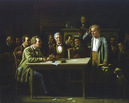 Image of painting by George Caleb Bingham, Puzzled Witness 1874