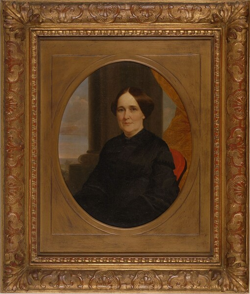 George Caleb Bingham,. Frances Annabelle Booker (Mrs. James W. George), ca. 1853