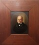 George Caleb Bingham, John Quincy Adams, 1844, Oil on Panel, 10x7 inches, with frame