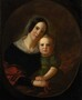 George Caleb Bingham, Mrs. George Caleb Bingham (Elizabeth Hutchison) and Son Newton, 1842(121)