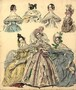 1836 Morning and Evening Dress, University of Washington Digital Libraries Fashion Plate Collection, COS069