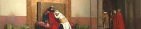 Jean-Paul Laurens, L'excommunication de Robert le Pieux, 1875, Musee d'Orsay