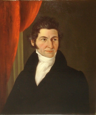 John Peter Frankenstein, attr., Portrait of an Unknown Man, aka The Lawyer, c. 1834 Private Collection