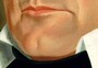 George Caleb Bingham, Dr. Anthony Wayne Rollins, 1835 (Detail - Mouth and Chin)