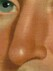 George Caleb Bingham, Shubael Allen, 1835 (Detail - Nose)