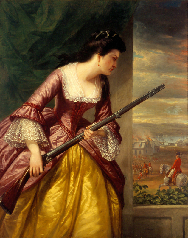 Daniel Huntington, Abigail Dolbeare Hinman, 1854-1856, Lyman Allyn Art Museum, New London, Connecticut