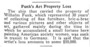 Funk's Paintings Lost at Sea
