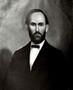 Image of George Caleb Bingham portrait of Richard B. George, ca. 1869