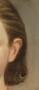 Detail image of portrait by George Caleb Bingham, Miss Annie Allen, 1859