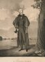Lithograph of Ralph E. W. Earl's portrait, Andrew Jackson at the Hermitage, 1832