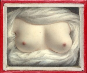 Sarah Goodridge, <i>Beauty Revealed</i>, 1828<br>Watercolor on Ivory, 2.5 x 3 inches<br> Metropolitan Museum of Art 2006.235.74